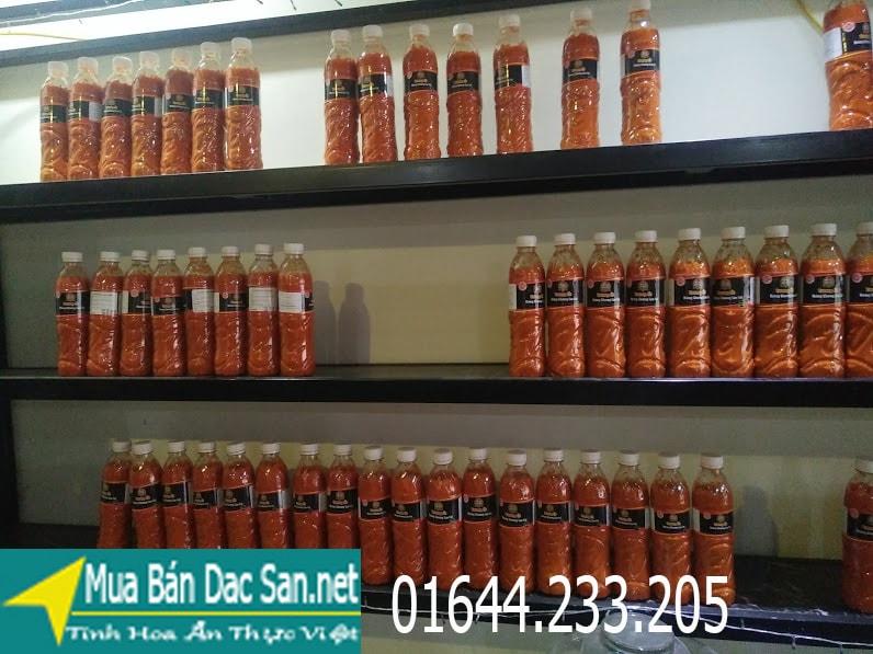 Đặc sản Sapa - tương ớt mường khương