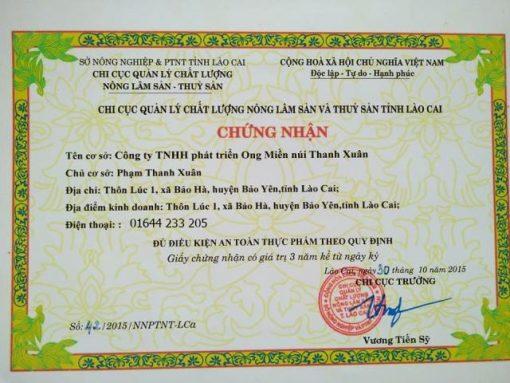 Mật Ong Thanh Xuân, Mật Ong Thanh Xuân Lào Cai