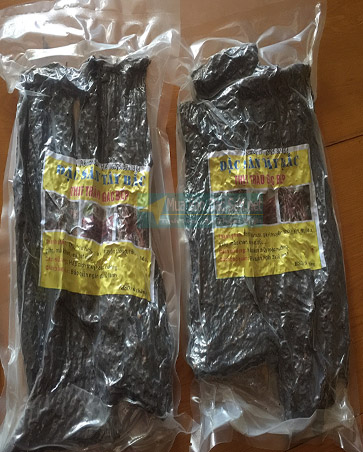túi sản phẩm thịt trâu gác bếp muabandacsan